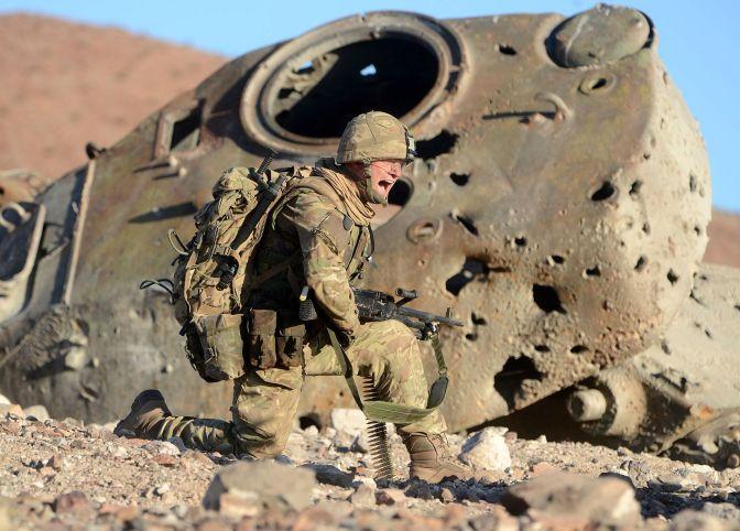 desert storm soldier