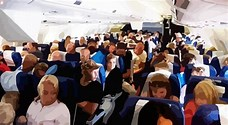 people on airplane