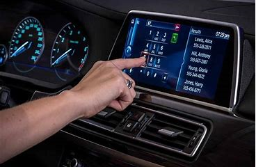 Auto touch screen