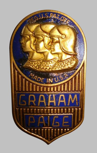 graham-paige badge